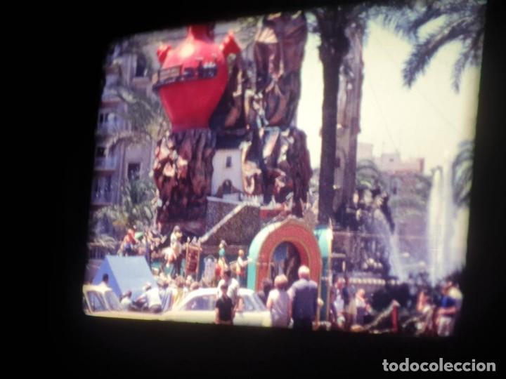 Cine: ANTIGUA BOBINA DE PELÍCULA-FILMACIONES AMATEUR-FOGUERES-SANT JOAN (1971) SUPER 8 MM, RETRO FILM - Foto 78 - 213359967