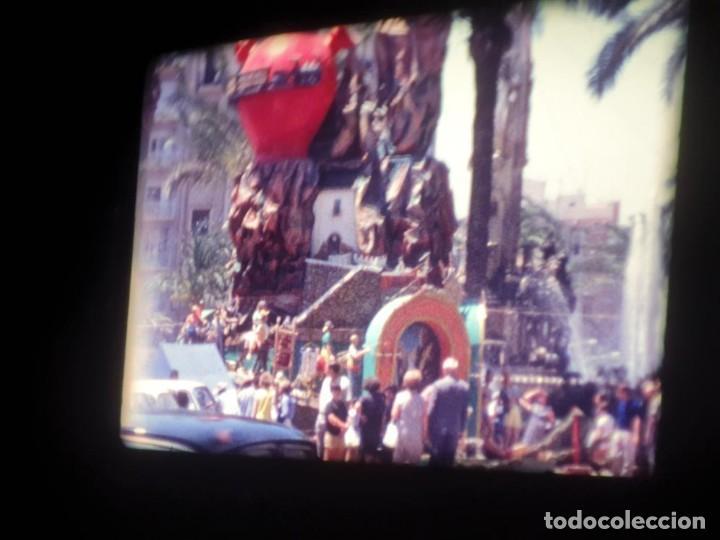 Cine: ANTIGUA BOBINA DE PELÍCULA-FILMACIONES AMATEUR-FOGUERES-SANT JOAN (1971) SUPER 8 MM, RETRO FILM - Foto 79 - 213359967