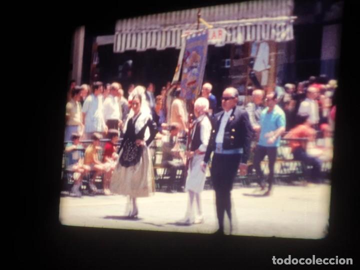 Cine: ANTIGUA BOBINA DE PELÍCULA-FILMACIONES AMATEUR-FOGUERES-SANT JOAN (1971) SUPER 8 MM, RETRO FILM - Foto 80 - 213359967
