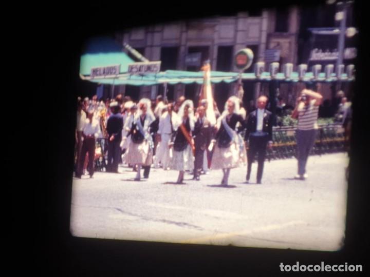 Cine: ANTIGUA BOBINA DE PELÍCULA-FILMACIONES AMATEUR-FOGUERES-SANT JOAN (1971) SUPER 8 MM, RETRO FILM - Foto 81 - 213359967