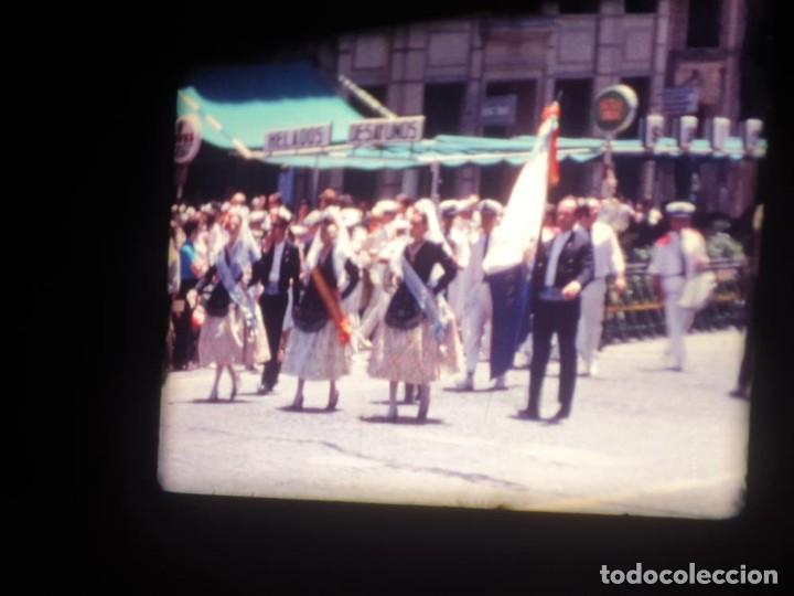 Cine: ANTIGUA BOBINA DE PELÍCULA-FILMACIONES AMATEUR-FOGUERES-SANT JOAN (1971) SUPER 8 MM, RETRO FILM - Foto 82 - 213359967