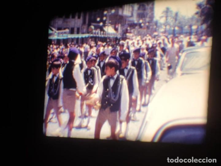 Cine: ANTIGUA BOBINA DE PELÍCULA-FILMACIONES AMATEUR-FOGUERES-SANT JOAN (1971) SUPER 8 MM, RETRO FILM - Foto 83 - 213359967