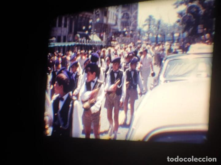 Cine: ANTIGUA BOBINA DE PELÍCULA-FILMACIONES AMATEUR-FOGUERES-SANT JOAN (1971) SUPER 8 MM, RETRO FILM - Foto 84 - 213359967