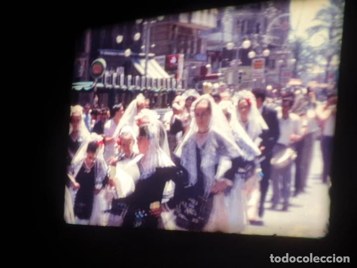 Cine: ANTIGUA BOBINA DE PELÍCULA-FILMACIONES AMATEUR-FOGUERES-SANT JOAN (1971) SUPER 8 MM, RETRO FILM - Foto 86 - 213359967
