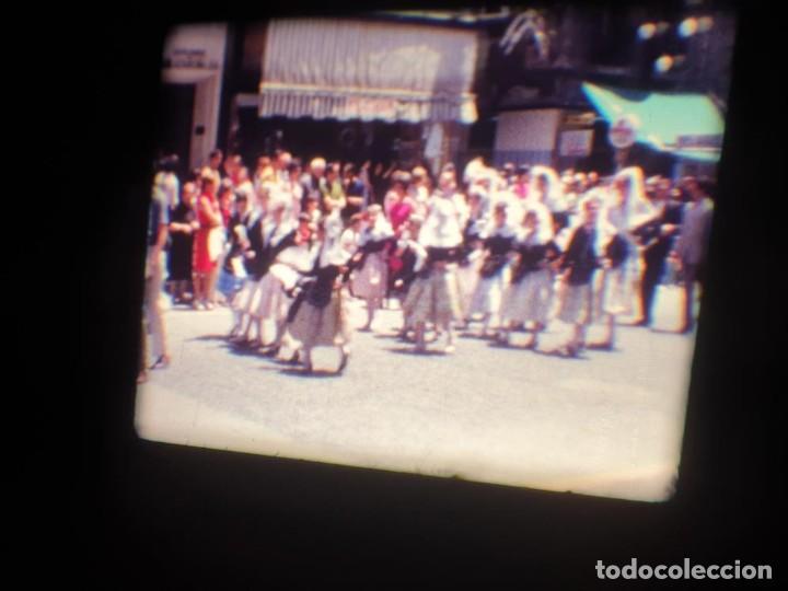 Cine: ANTIGUA BOBINA DE PELÍCULA-FILMACIONES AMATEUR-FOGUERES-SANT JOAN (1971) SUPER 8 MM, RETRO FILM - Foto 87 - 213359967