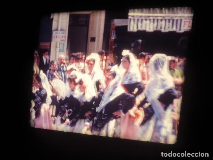 Cine: ANTIGUA BOBINA DE PELÍCULA-FILMACIONES AMATEUR-FOGUERES-SANT JOAN (1971) SUPER 8 MM, RETRO FILM - Foto 88 - 213359967