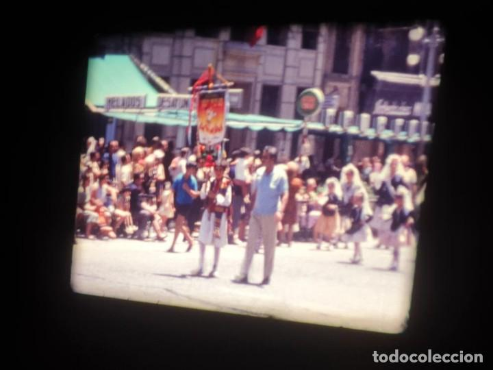 Cine: ANTIGUA BOBINA DE PELÍCULA-FILMACIONES AMATEUR-FOGUERES-SANT JOAN (1971) SUPER 8 MM, RETRO FILM - Foto 89 - 213359967