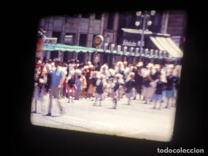 Cine: ANTIGUA BOBINA DE PELÍCULA-FILMACIONES AMATEUR-FOGUERES-SANT JOAN (1971) SUPER 8 MM, RETRO FILM - Foto 90 - 213359967