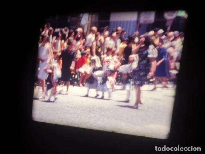 Cine: ANTIGUA BOBINA DE PELÍCULA-FILMACIONES AMATEUR-FOGUERES-SANT JOAN (1971) SUPER 8 MM, RETRO FILM - Foto 91 - 213359967