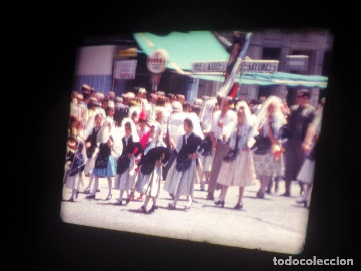 Cine: ANTIGUA BOBINA DE PELÍCULA-FILMACIONES AMATEUR-FOGUERES-SANT JOAN (1971) SUPER 8 MM, RETRO FILM - Foto 92 - 213359967