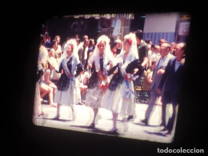 Cine: ANTIGUA BOBINA DE PELÍCULA-FILMACIONES AMATEUR-FOGUERES-SANT JOAN (1971) SUPER 8 MM, RETRO FILM - Foto 93 - 213359967