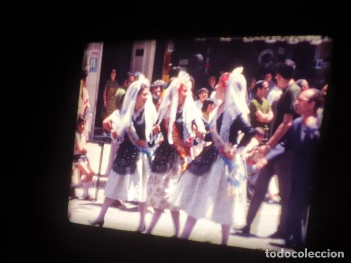 Cine: ANTIGUA BOBINA DE PELÍCULA-FILMACIONES AMATEUR-FOGUERES-SANT JOAN (1971) SUPER 8 MM, RETRO FILM - Foto 94 - 213359967