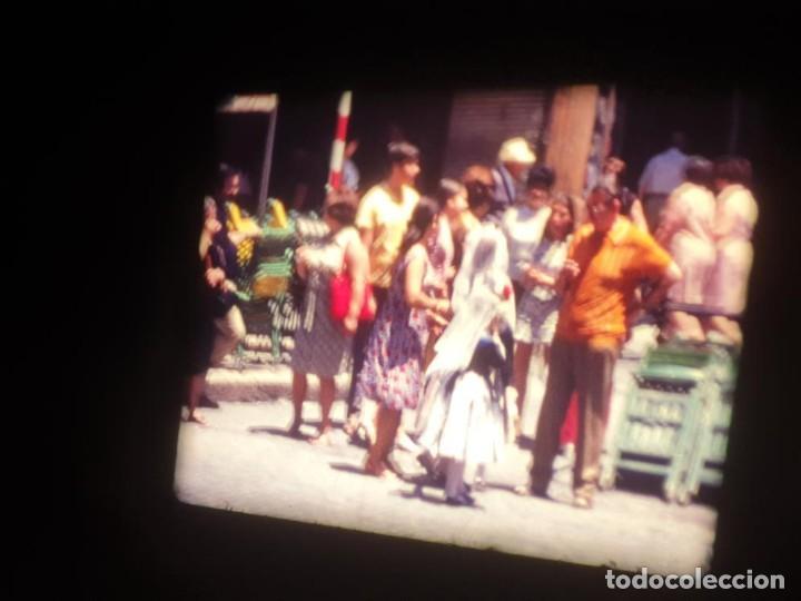 Cine: ANTIGUA BOBINA DE PELÍCULA-FILMACIONES AMATEUR-FOGUERES-SANT JOAN (1971) SUPER 8 MM, RETRO FILM - Foto 95 - 213359967