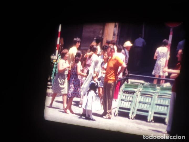 Cine: ANTIGUA BOBINA DE PELÍCULA-FILMACIONES AMATEUR-FOGUERES-SANT JOAN (1971) SUPER 8 MM, RETRO FILM - Foto 96 - 213359967