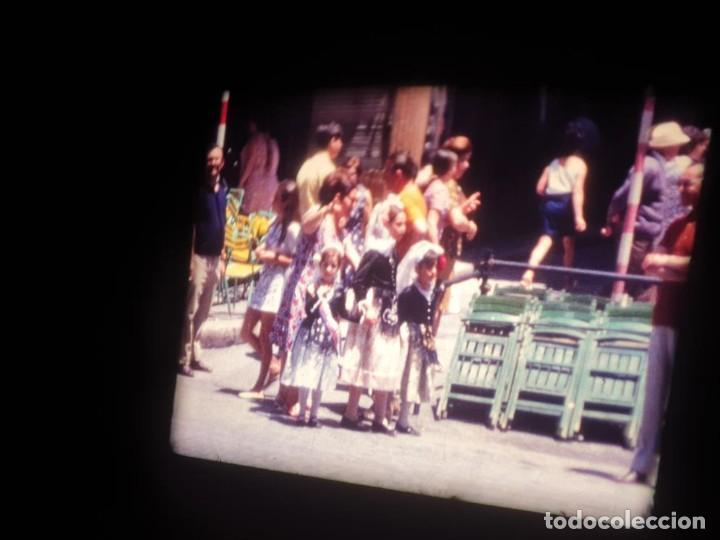 Cine: ANTIGUA BOBINA DE PELÍCULA-FILMACIONES AMATEUR-FOGUERES-SANT JOAN (1971) SUPER 8 MM, RETRO FILM - Foto 97 - 213359967