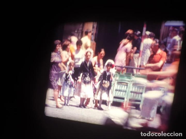 Cine: ANTIGUA BOBINA DE PELÍCULA-FILMACIONES AMATEUR-FOGUERES-SANT JOAN (1971) SUPER 8 MM, RETRO FILM - Foto 98 - 213359967