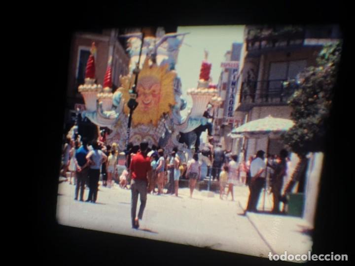 Cine: ANTIGUA BOBINA DE PELÍCULA-FILMACIONES AMATEUR-FOGUERES-SANT JOAN (1971) SUPER 8 MM, RETRO FILM - Foto 99 - 213359967