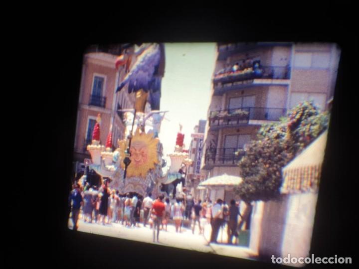 Cine: ANTIGUA BOBINA DE PELÍCULA-FILMACIONES AMATEUR-FOGUERES-SANT JOAN (1971) SUPER 8 MM, RETRO FILM - Foto 100 - 213359967