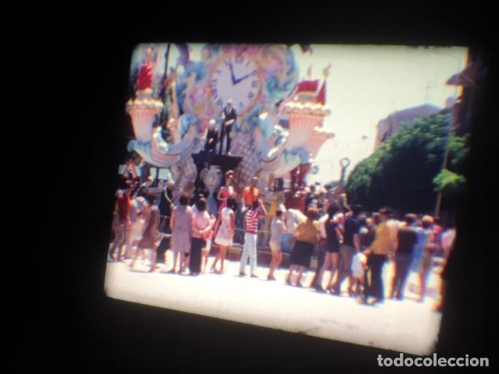 Cine: ANTIGUA BOBINA DE PELÍCULA-FILMACIONES AMATEUR-FOGUERES-SANT JOAN (1971) SUPER 8 MM, RETRO FILM - Foto 101 - 213359967