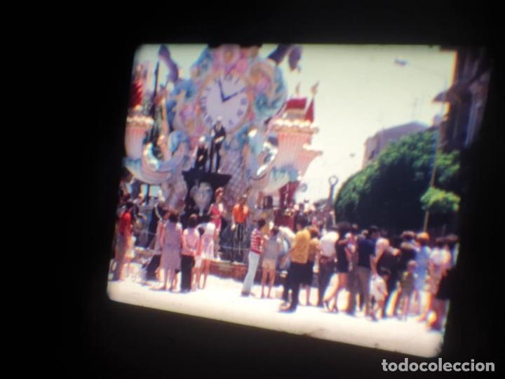 Cine: ANTIGUA BOBINA DE PELÍCULA-FILMACIONES AMATEUR-FOGUERES-SANT JOAN (1971) SUPER 8 MM, RETRO FILM - Foto 102 - 213359967