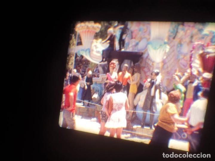 Cine: ANTIGUA BOBINA DE PELÍCULA-FILMACIONES AMATEUR-FOGUERES-SANT JOAN (1971) SUPER 8 MM, RETRO FILM - Foto 103 - 213359967