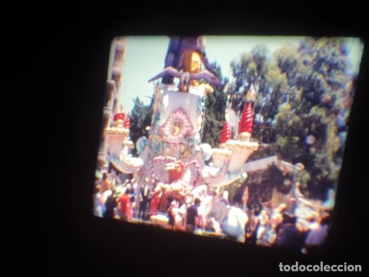 Cine: ANTIGUA BOBINA DE PELÍCULA-FILMACIONES AMATEUR-FOGUERES-SANT JOAN (1971) SUPER 8 MM, RETRO FILM - Foto 106 - 213359967