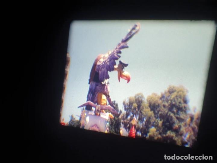 Cine: ANTIGUA BOBINA DE PELÍCULA-FILMACIONES AMATEUR-FOGUERES-SANT JOAN (1971) SUPER 8 MM, RETRO FILM - Foto 108 - 213359967