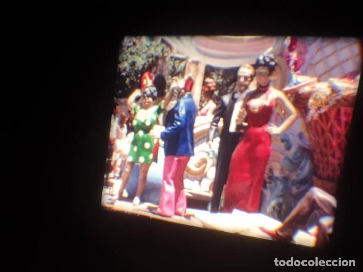 Cine: ANTIGUA BOBINA DE PELÍCULA-FILMACIONES AMATEUR-FOGUERES-SANT JOAN (1971) SUPER 8 MM, RETRO FILM - Foto 109 - 213359967