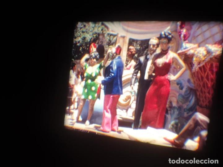 Cine: ANTIGUA BOBINA DE PELÍCULA-FILMACIONES AMATEUR-FOGUERES-SANT JOAN (1971) SUPER 8 MM, RETRO FILM - Foto 110 - 213359967
