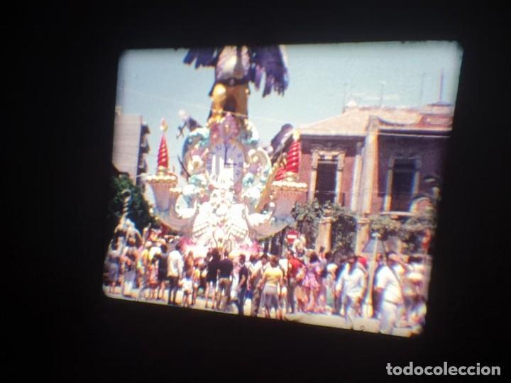 Cine: ANTIGUA BOBINA DE PELÍCULA-FILMACIONES AMATEUR-FOGUERES-SANT JOAN (1971) SUPER 8 MM, RETRO FILM - Foto 113 - 213359967