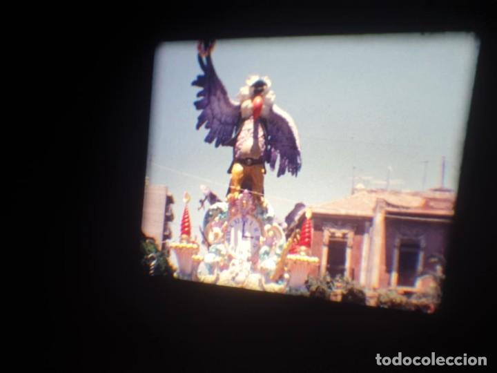 Cine: ANTIGUA BOBINA DE PELÍCULA-FILMACIONES AMATEUR-FOGUERES-SANT JOAN (1971) SUPER 8 MM, RETRO FILM - Foto 115 - 213359967