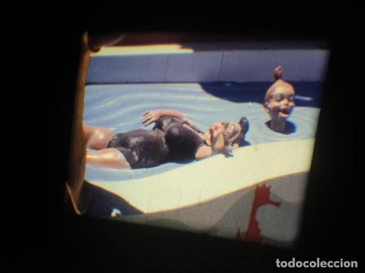 Cine: ANTIGUA BOBINA DE PELÍCULA-FILMACIONES AMATEUR-FOGUERES-SANT JOAN (1971) SUPER 8 MM, RETRO FILM - Foto 117 - 213359967