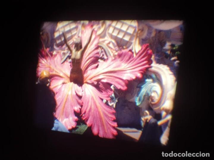 Cine: ANTIGUA BOBINA DE PELÍCULA-FILMACIONES AMATEUR-FOGUERES-SANT JOAN (1971) SUPER 8 MM, RETRO FILM - Foto 118 - 213359967