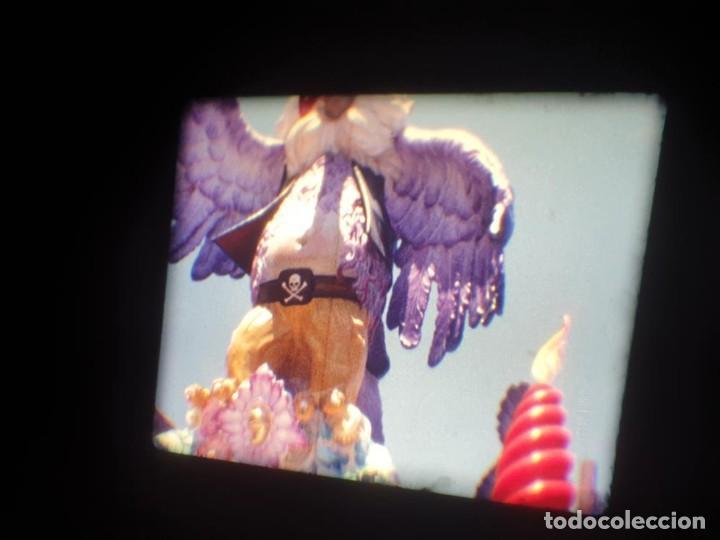 Cine: ANTIGUA BOBINA DE PELÍCULA-FILMACIONES AMATEUR-FOGUERES-SANT JOAN (1971) SUPER 8 MM, RETRO FILM - Foto 122 - 213359967