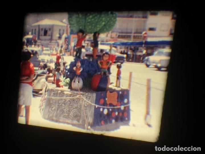 Cine: ANTIGUA BOBINA DE PELÍCULA-FILMACIONES AMATEUR-FOGUERES-SANT JOAN (1971) SUPER 8 MM, RETRO FILM - Foto 124 - 213359967