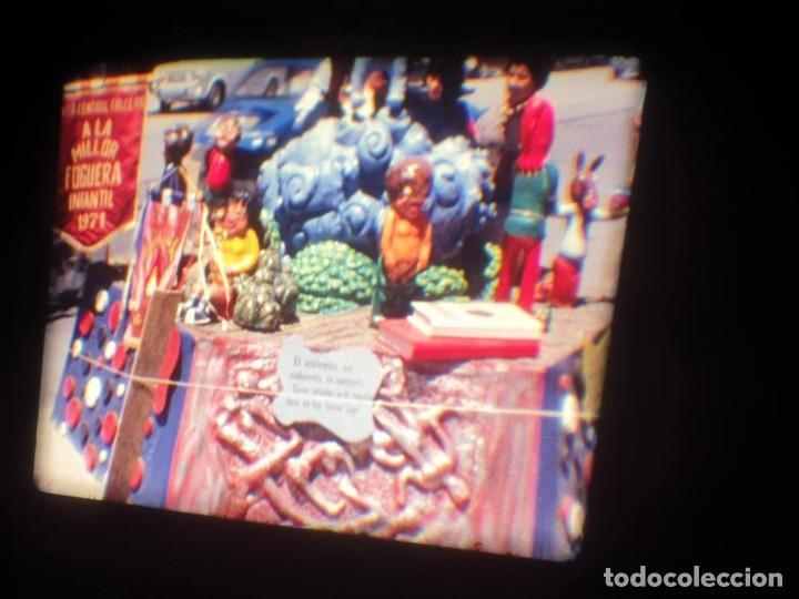 Cine: ANTIGUA BOBINA DE PELÍCULA-FILMACIONES AMATEUR-FOGUERES-SANT JOAN (1971) SUPER 8 MM, RETRO FILM - Foto 125 - 213359967