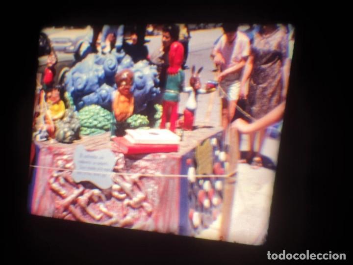 Cine: ANTIGUA BOBINA DE PELÍCULA-FILMACIONES AMATEUR-FOGUERES-SANT JOAN (1971) SUPER 8 MM, RETRO FILM - Foto 126 - 213359967