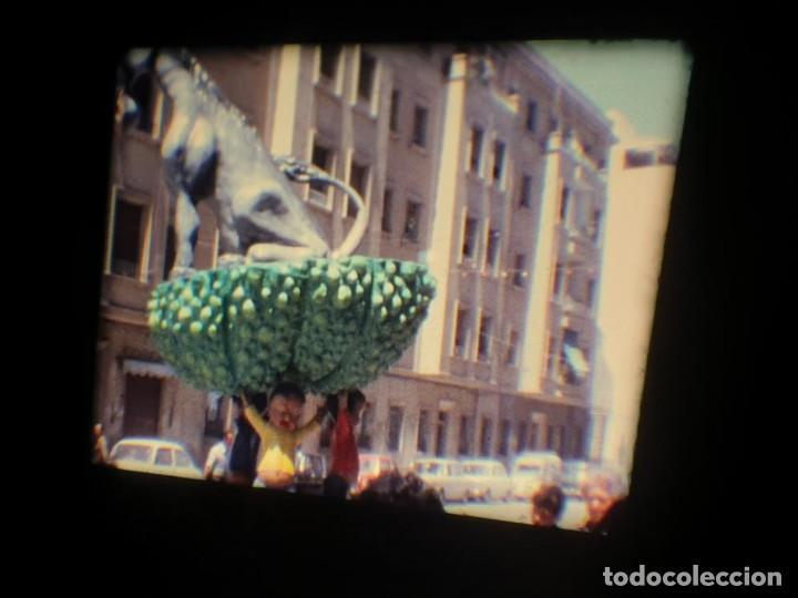 Cine: ANTIGUA BOBINA DE PELÍCULA-FILMACIONES AMATEUR-FOGUERES-SANT JOAN (1971) SUPER 8 MM, RETRO FILM - Foto 127 - 213359967