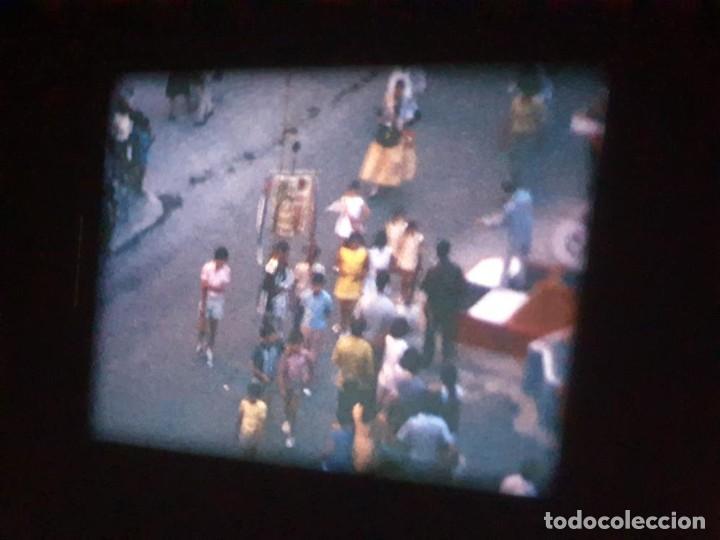 Cine: ANTIGUA BOBINA DE PELÍCULA-FILMACIONES AMATEUR-FOGUERES-SANT JOAN (1971) SUPER 8 MM, RETRO FILM - Foto 128 - 213359967