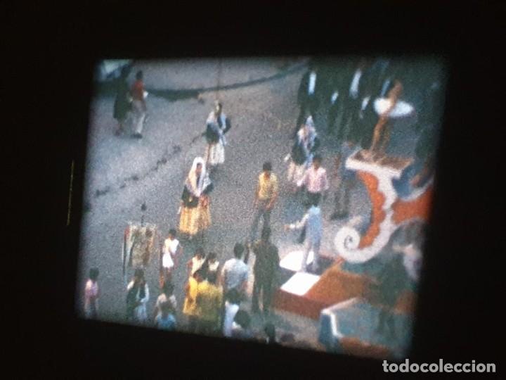Cine: ANTIGUA BOBINA DE PELÍCULA-FILMACIONES AMATEUR-FOGUERES-SANT JOAN (1971) SUPER 8 MM, RETRO FILM - Foto 129 - 213359967