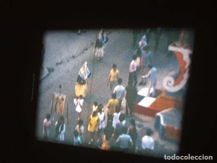 Cine: ANTIGUA BOBINA DE PELÍCULA-FILMACIONES AMATEUR-FOGUERES-SANT JOAN (1971) SUPER 8 MM, RETRO FILM - Foto 130 - 213359967