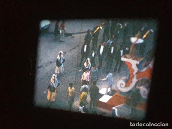 Cine: ANTIGUA BOBINA DE PELÍCULA-FILMACIONES AMATEUR-FOGUERES-SANT JOAN (1971) SUPER 8 MM, RETRO FILM - Foto 131 - 213359967