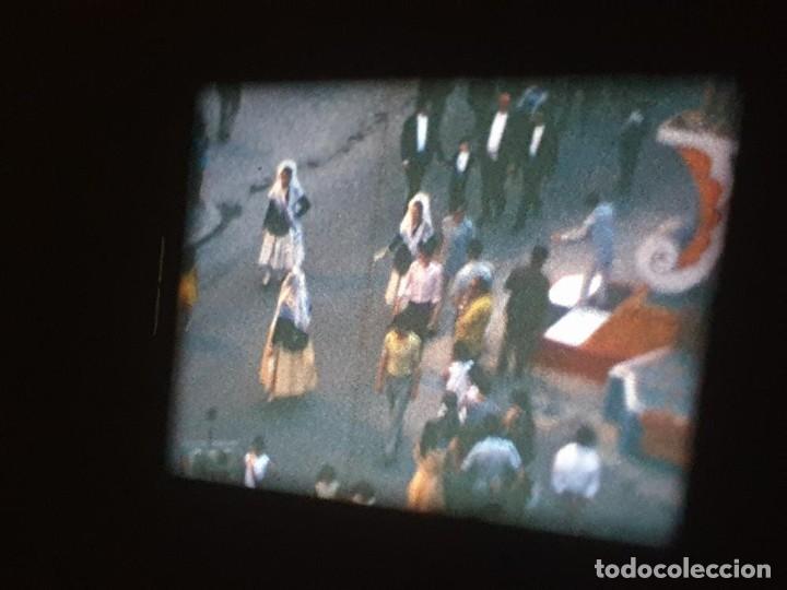 Cine: ANTIGUA BOBINA DE PELÍCULA-FILMACIONES AMATEUR-FOGUERES-SANT JOAN (1971) SUPER 8 MM, RETRO FILM - Foto 132 - 213359967