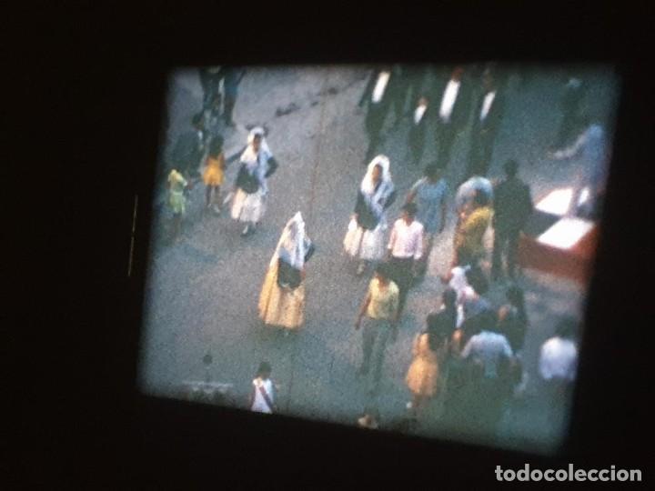 Cine: ANTIGUA BOBINA DE PELÍCULA-FILMACIONES AMATEUR-FOGUERES-SANT JOAN (1971) SUPER 8 MM, RETRO FILM - Foto 133 - 213359967