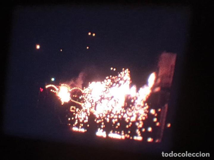 Cine: ANTIGUA BOBINA DE PELÍCULA-FILMACIONES AMATEUR-FOGUERES-SANT JOAN (1971) SUPER 8 MM, RETRO FILM - Foto 135 - 213359967