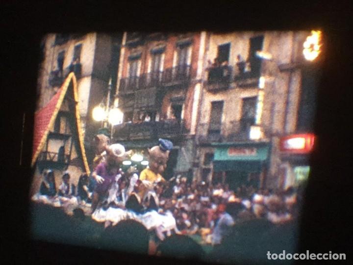 Cine: ANTIGUA BOBINA DE PELÍCULA-FILMACIONES AMATEUR-FOGUERES-SANT JOAN (1971) SUPER 8 MM, RETRO FILM - Foto 142 - 213359967