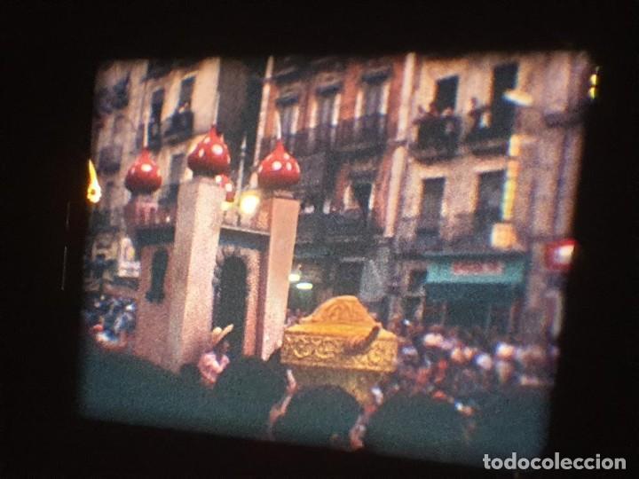 Cine: ANTIGUA BOBINA DE PELÍCULA-FILMACIONES AMATEUR-FOGUERES-SANT JOAN (1971) SUPER 8 MM, RETRO FILM - Foto 143 - 213359967