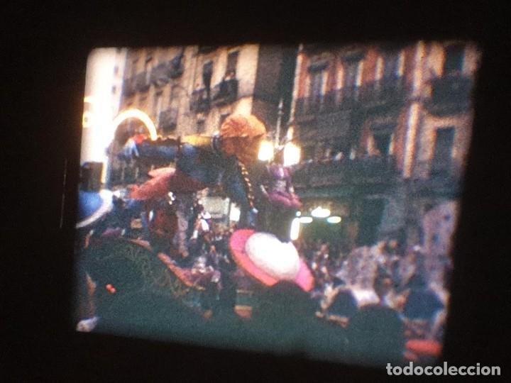 Cine: ANTIGUA BOBINA DE PELÍCULA-FILMACIONES AMATEUR-FOGUERES-SANT JOAN (1971) SUPER 8 MM, RETRO FILM - Foto 145 - 213359967