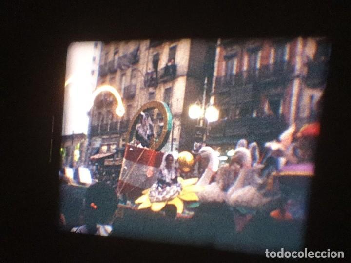 Cine: ANTIGUA BOBINA DE PELÍCULA-FILMACIONES AMATEUR-FOGUERES-SANT JOAN (1971) SUPER 8 MM, RETRO FILM - Foto 147 - 213359967