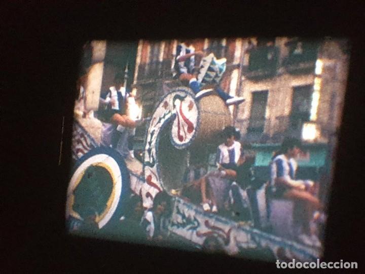 Cine: ANTIGUA BOBINA DE PELÍCULA-FILMACIONES AMATEUR-FOGUERES-SANT JOAN (1971) SUPER 8 MM, RETRO FILM - Foto 149 - 213359967